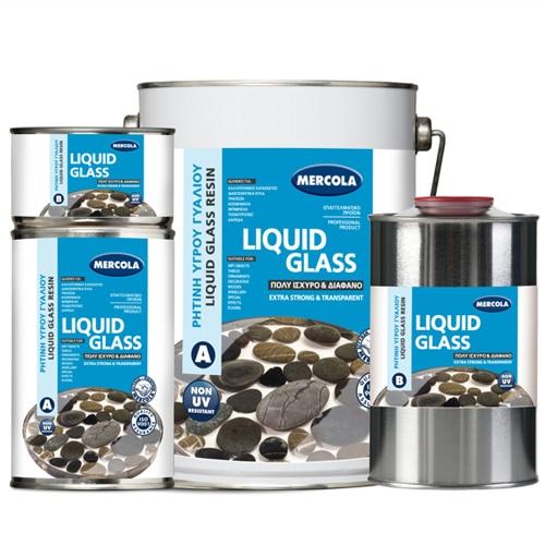 igro giali liquid glass 320.gr mercola evoheme droutsas.gr